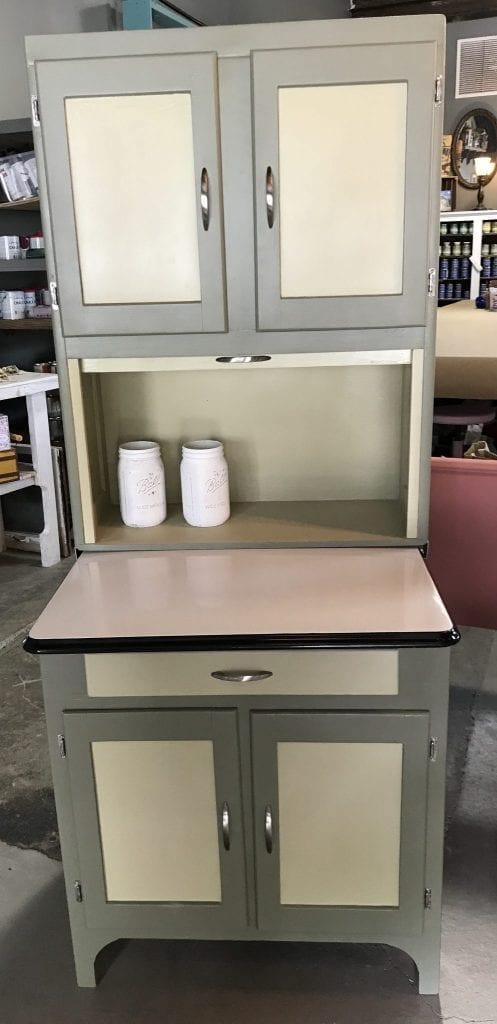 1930s/40s Hoosier Cabinet & 1930s/40s Hoosier Cabinet - The Back Door Furnishings - Pittsburghu0027s ...