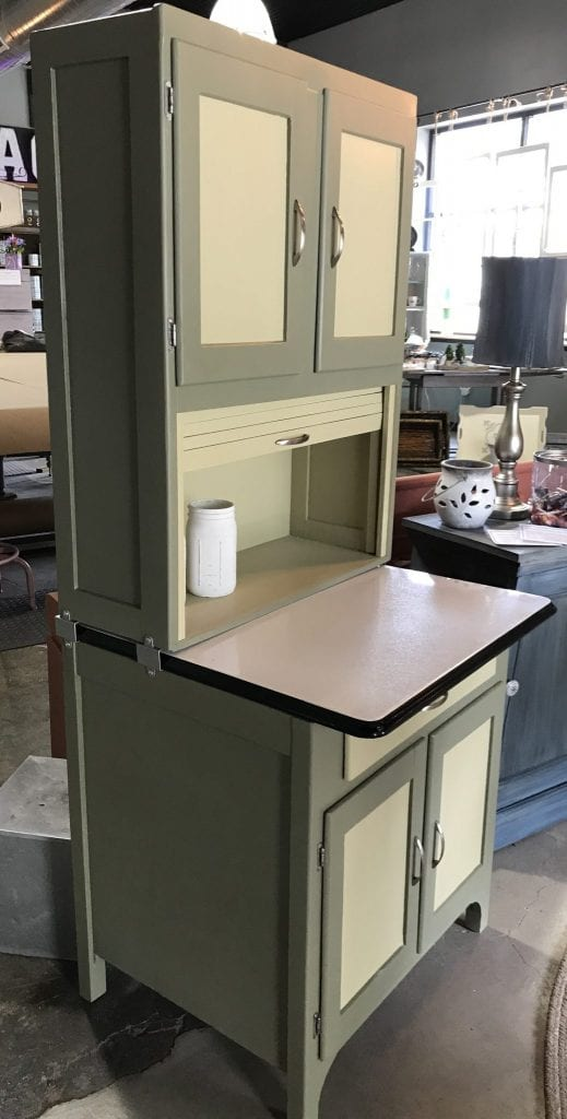 1930s 40s Hoosier Cabinet The Back Door Furnishings